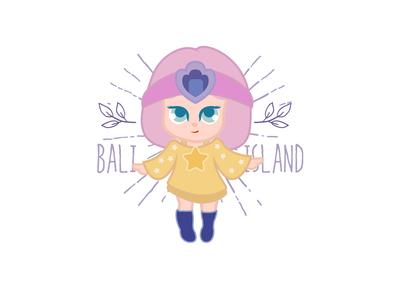 Atlantis girl @Minii girl minii illustration daughter character cartoon