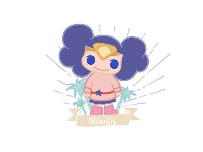 Amazing girl @Minii minii girl illustration daughter character cartoon