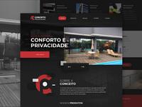 Conceito Películas - Website Redesign