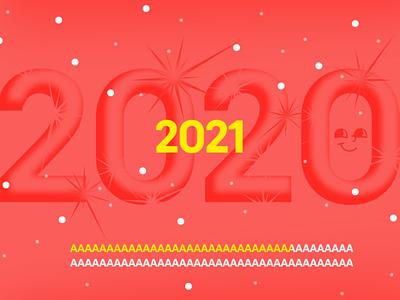 Illustration for 2021 minimal branding flat vector illustration design