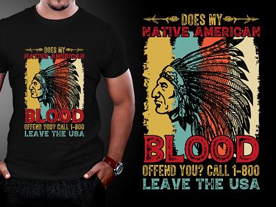 Native American T-Shirt Design