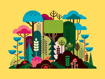 Jungle_Flat UI
