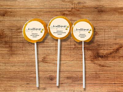 Loullipops Brand/Packaging Design branding lollipops lollipop logo product branding design brand design brand design