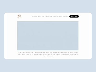 AMH Sketch Series Pitch Deck Website pitch deck pitchdeck website design website web icon ux ui illustration design
