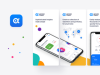 Genuine Impact, Fintech App - App Store screenshots