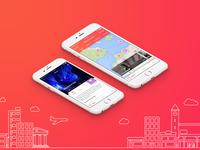 Leisurize iOS - concept app