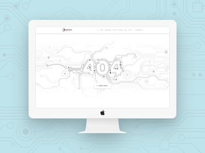 Antmicro's website - 404 page