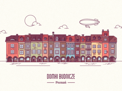 Poznań Old Market buildings