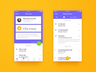 FollowUp iOS - concept app