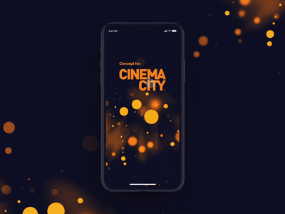 Cinema City iOS - concept app