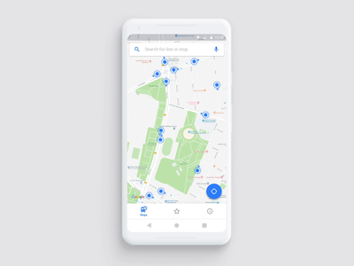 Kiedy Jadę Android - redesign filters search calendar splash screen map tabs navigation interaction design principle animation material design android mobile app graphic design user interface ux design travel sketch