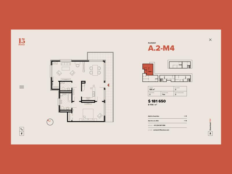 Real Estate - concept design illustrator sketch brown ecommerce buildings business minimal web design concept design website illustration
