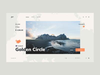 Travel Agency - concept design