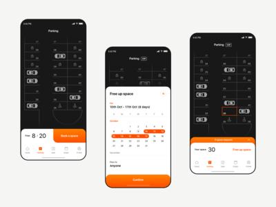 Merixstudio Parking - mobile app