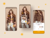 Fashion Store - concept Android app