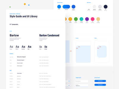 Genuine Impact, Fintech App - style guide colors typogaphy style guide ux design user interface technology statistics sketch mobile app minimal ios graphic design flat design fintech finance design data dashboard chart business