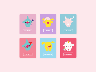 Toymail - illustrations