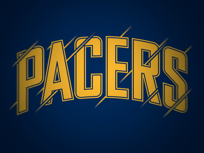 Pacers Treatment sports basketball pacers nba finals blue russell pritchard
