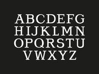 """Navy Pier"" Font"