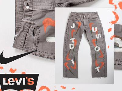 Levi's Nike Customs