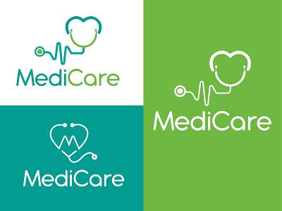 medicare logo flat modernlogo design modern logo minimalist logo minimal graphic design vector illustration logo branding