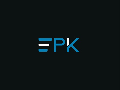 IPK logo modern logo branding vector illustration logo design investment logo letter logo minimalist logo graphicdesign logodesign logo