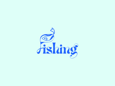 fishing logo typography graphic design minimal branding vector modern logo design modern logos illustration minimalist logo design minimalist logodesigns logodesigner logo ideas logodesign logo