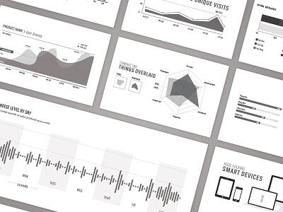 Placeholder Info-Graphics (download) infographics info graphic audio pie percent bar graph area line dot progress radar chart vector free