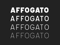 Affogato Sans (In Progress)