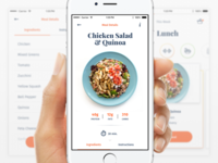 Ēvolve – Health Made Simple (concepts) pota schedule list recipe serif icons onboarding ui ux app fitness health