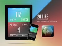 20 Life - MTG Life Counter App
