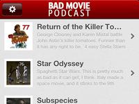 Bad Movie Podcast App