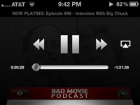 Bad Movie Podcast Player