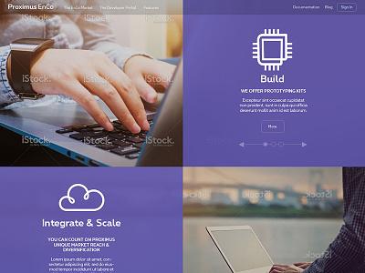 PRoximus Enco website icons iot features