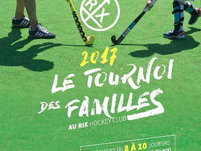 Rix Hockey Tournoi famille family gazon hockey