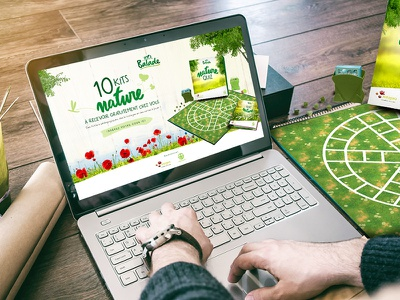 Game Activation for Balade flowers game garden green boter