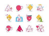 Fling Stickers