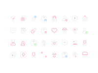 Paperclip icons