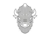Bearded bull