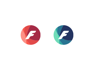 'F' icon design icon logo pictogram flat fashion symbol