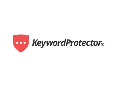 KeywordProtector design icon logo keyword protector shield software flat