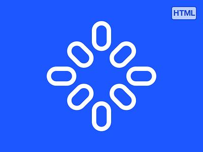 Animated symbol design logo mark emblem medical fellowship animation html javascript web designer symbol flat