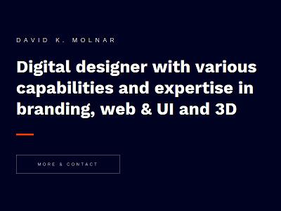 Portfolio case study showcase website minimal 3d ui web branding designer works portfolio design