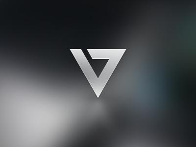 'V' for Vision vol. 2 it redesign triangle vision brand identity mark icon logo design symbol