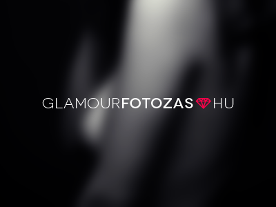 Glamour Logo photography photo glamour beauty fashion diamond icon logo women design