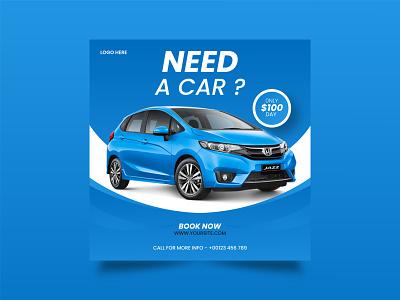 rent a car social media post design need a car car rent car