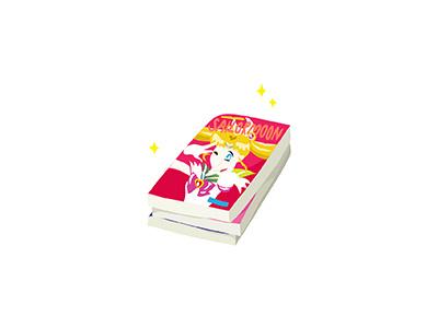 Manga comic books sailor moon anime comics japanese illo flat 2d minimal illustrator vector illustration