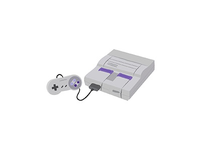 Nintendo traditional console oldschool videogames nintendo gaming game japanese illo flat 2d minimal illustrator vector illustration