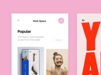 Design Work Space App