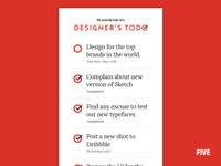 Designers looking for designers!